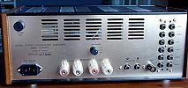 Integrovaný zesilovač CS-300X(S) - zezadu
